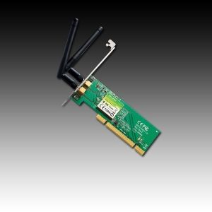 NIC TP-Link TL-WN851ND, PCI Adapter, 2,4GHz Wireless N 300Mbps, Detachable Omni Directional Antenna 2 x 2dBi (RP-SMA)