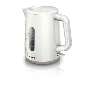 Philips Електрическа кана Daily Collection 1.5 L 2400 W, White beige