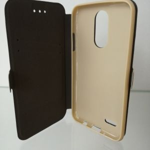 Странична папка Book Pocket - LG K4 2017 Gold