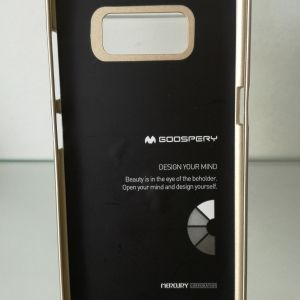 Силикон Jelly  Mercury- Samsung S8  GOLD