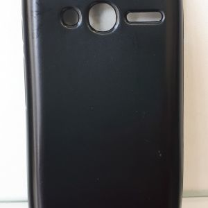 Jelly Case Flash Mat - Alcatel 4034/pixi 4(4.0) Black