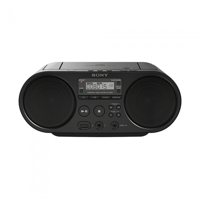 CD плейър Sony ZS-PS50 CD player, black