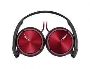 Слушалки Sony Headset MDR-ZX310 red