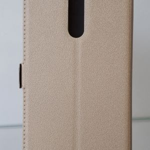 Странична папка Book Pocket - Nokia 8 Gold