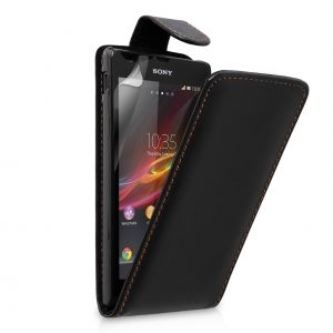 Флип за Sony Xperia SP C5306, Черен