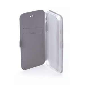 Калъф Book Pocket за Alcatel 1S, Сив